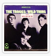 The Troggs Wild Thing 60's Garage Rock lp! Sticker