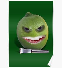 Beware the Lime with the Lemon Zester Poster