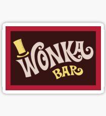 Wonka Bar Sticker