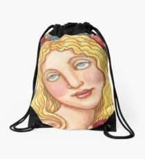 APPLE AND EVE Drawstring Bag