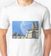 Detail of the basilica building from Siena T-Shirt