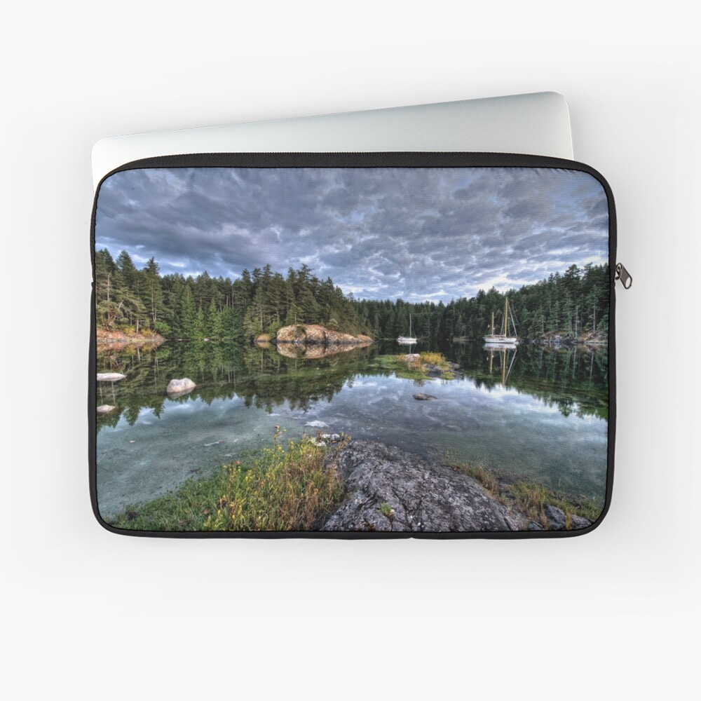 Smuggler Cove, Pender Harbour, BC Laptop Sleeve