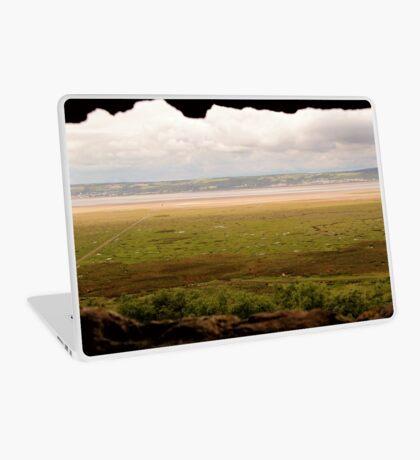 Gower Salt Marsh - As Seen From Weobly Castle Laptop Skin