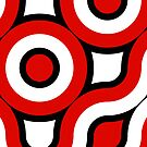 Round red,black,white by RosiLorz
