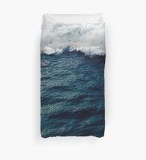Deep Blue Ocean Wave Duvet Cover