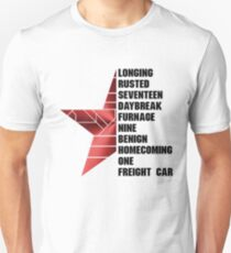 bucky barnes Unisex T-Shirt