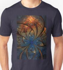 When blue turns gold Unisex T-Shirt