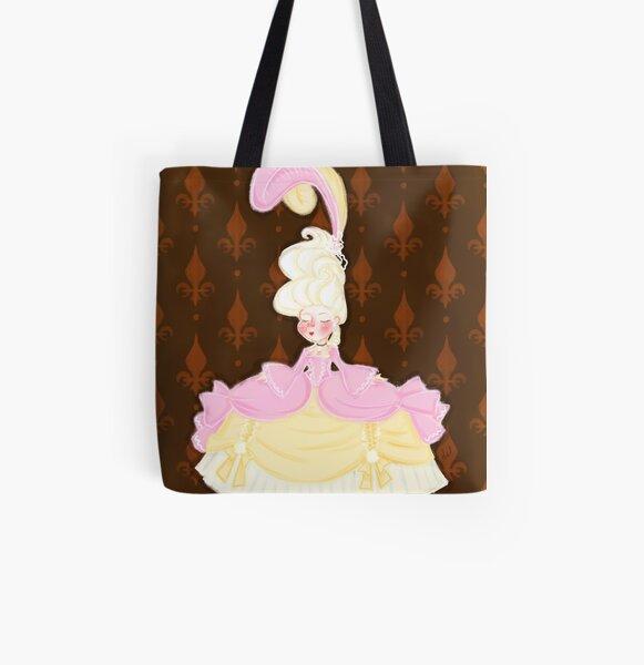 Spiral Ladies Gothic Vampire ROCOCO SKULL Canvas Tote Bag 4 Life