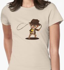 Indiana Jones ~ Lost Ark Womens Fitted T-Shirt