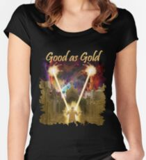 Good as Gold? Women's Fitted Scoop T-Shirt