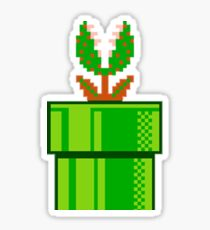 Venus Fly Trap Super Mario Bros Sticker