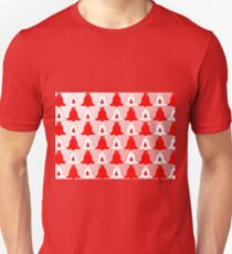 Christmas bells red Unisex T-Shirt