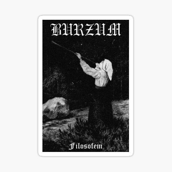 Burzum - Filosofem #1 Sticker