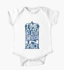 TARDIS Definition Kids Clothes
