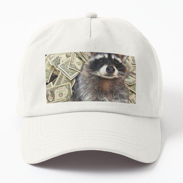 Filthy rich raccoon  Dad Hat