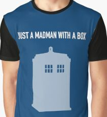 Just A Madman With a Box ver.LightBlue Graphic T-Shirt