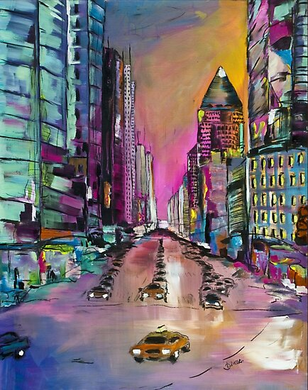 Love New York City by Diana Linsse