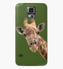 Funny giraffe Case/Skin for Samsung Galaxy