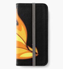 My little Pony - Spitfire Cutie Mark  V3 Black iPhone Wallet/Case/Skin