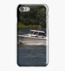 Small Cabin Cruiser iPhone Case/Skin