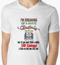 VW Camper White Xmas T-Shirt
