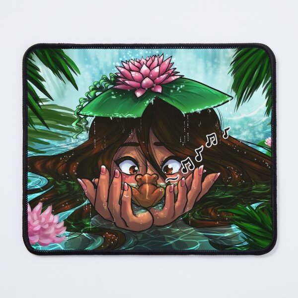 Taino Girl with Her Coqui Mouse Pad