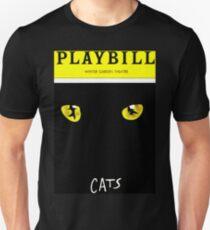 PLAYBILL GERSHWIN THEATRE WICKED CAT T-Shirt