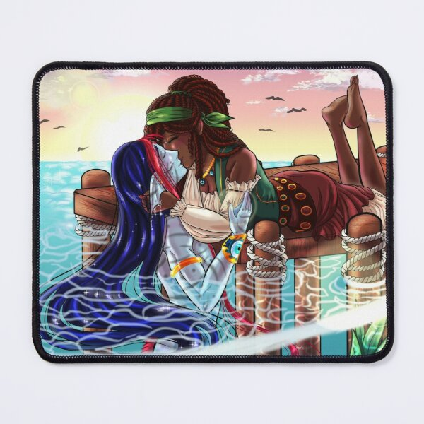 Star Crossed Lovers Mouse Pad