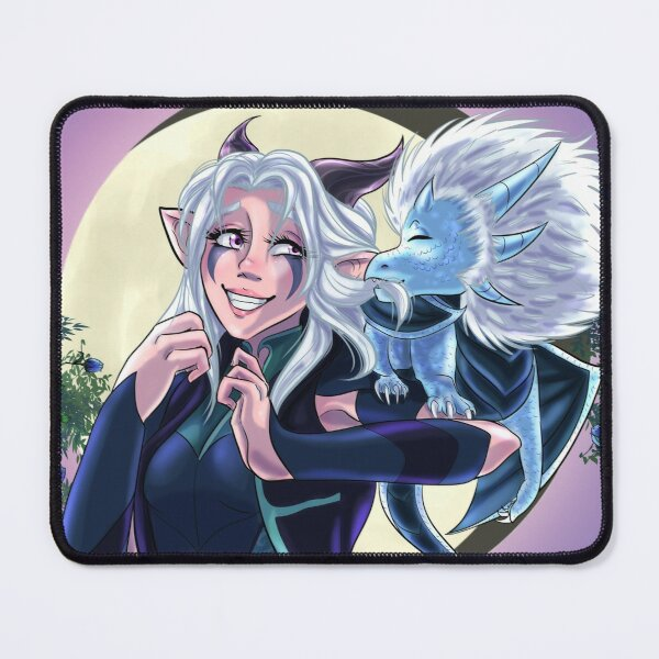 The Dragon Prince: Rayla and Zym Mouse Pad