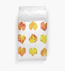 Grape leafs Duvet Cover