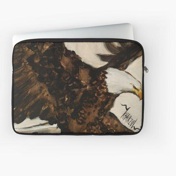 Aerial Hunter - Eagle Painting Laptop Sleeve