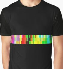 Spectrum data glitch Graphic T-Shirt