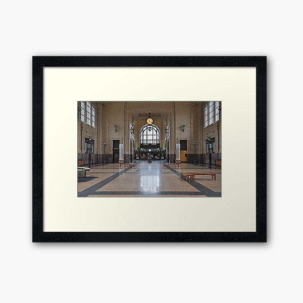 Union Station Kansas City  Framed Art Print