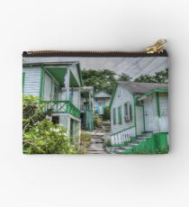 Little houses on Bennet's Hill - Nassau, The Bahamas Studio Pouch