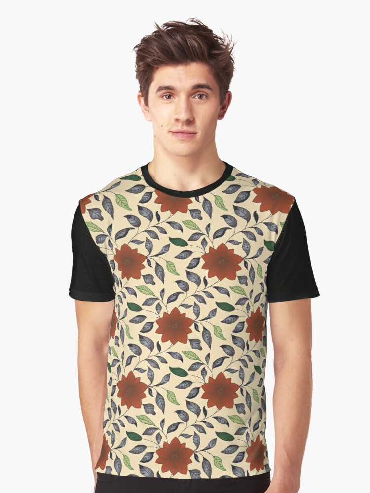 Lotus flower Graphic T-Shirt Front