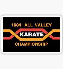 ALL VALLEY KARATE CHAMPIONSHIP 1984 Sticker