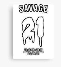 21 Savage Canvas Prints Redbubble