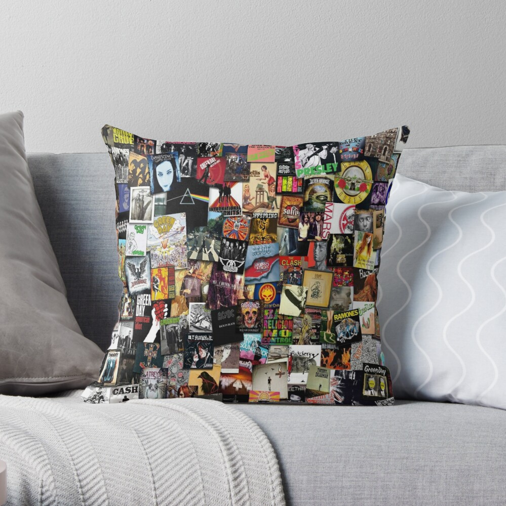 In One Place Throw Pillow