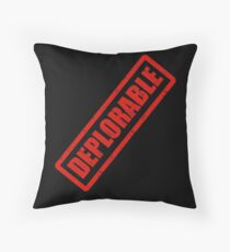 Deplorable Stamp Throw Pillow