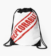 Deplorable Stamp Drawstring Bag