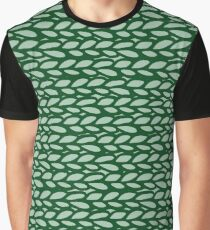 Knitted pattern  Graphic T-Shirt