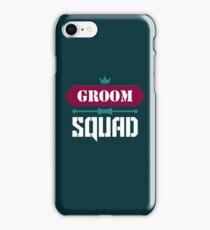 Groom Squad iPhone Case/Skin