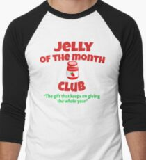 Christmas Vacation - Jelly Of The Month Club  Men's Baseball ¾ T-Shirt