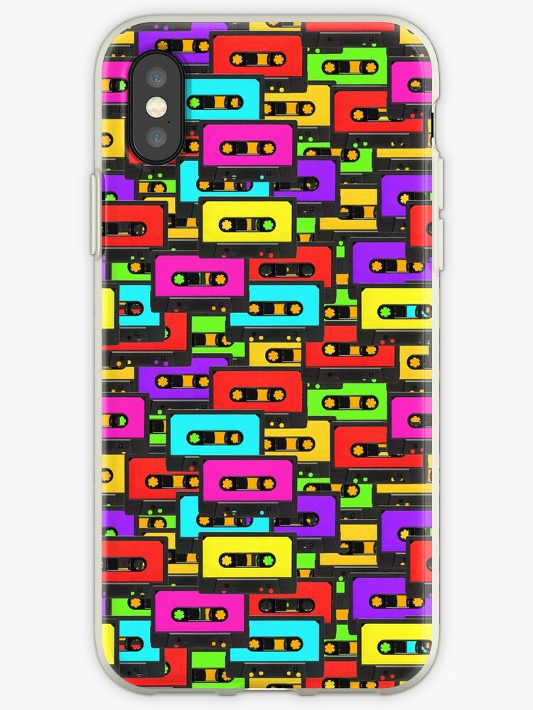 Colorful 80s analoge audio tapes by UDDesign