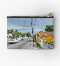 Montrose Avenue in Nassau, The Bahamas Studio Pouch
