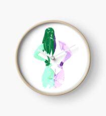 Minimalist She-Hulk Clock