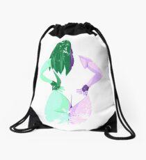 Minimalist She-Hulk Drawstring Bag