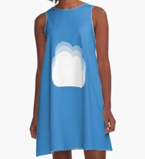 Cloud(s) A-Line Dress