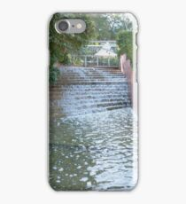 Water Cascade! Colin Campbells Mem. Garden. Brisbane. Qld. iPhone Case/Skin