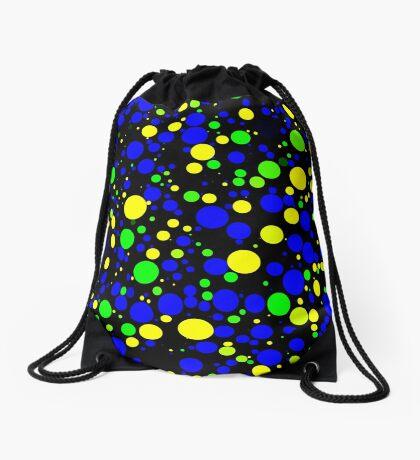 Circle Packing 001 Drawstring Bag